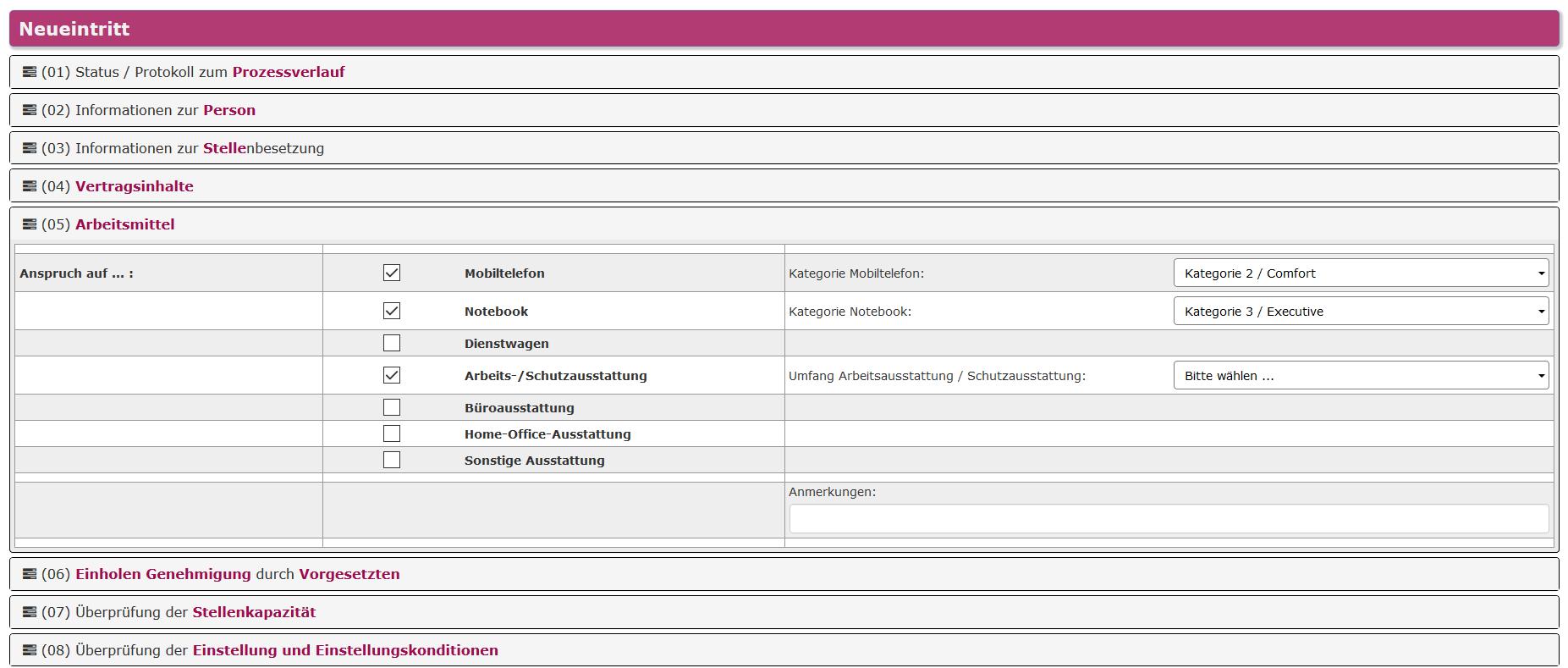 Erfreut Hr Checklistenvorlage Ideen - Entry Level Resume Vorlagen ...